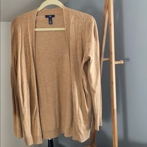 Gap Camel Cardigan